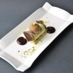 Tronchetto all pistacchio