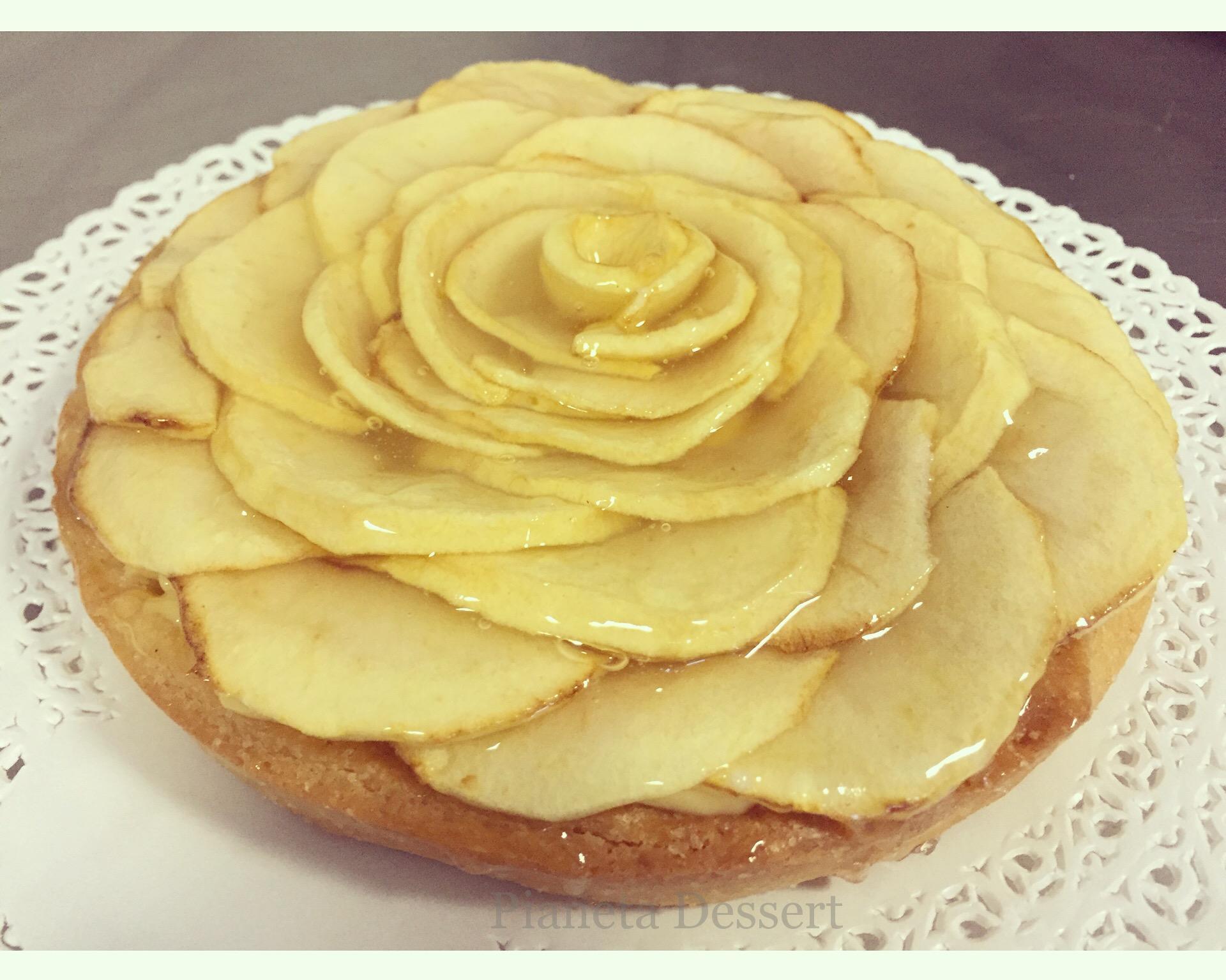 Crostata integrale con mele cotte e crema pianeta dessert for Ricette esotiche