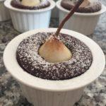 Cocotte di pere e cioccolato