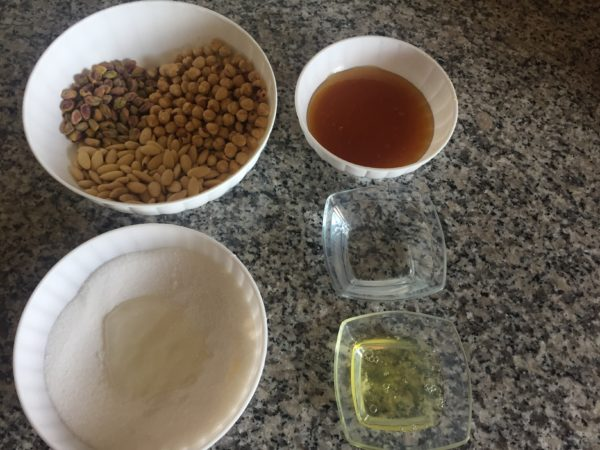 Ingredienti per il torrone