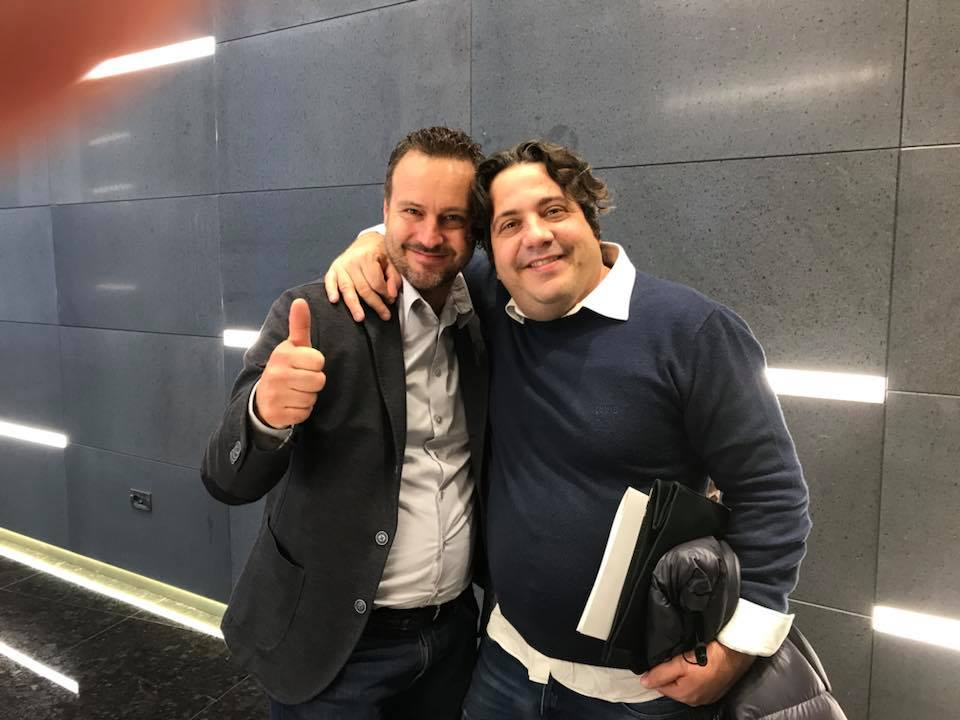 Gianluca Fusto e Loris Oss Emer