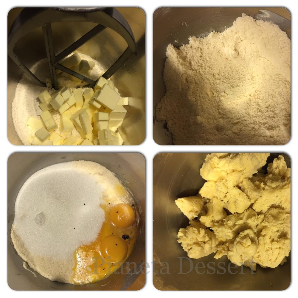 Ricette base di pasticceria -Pasta frolla