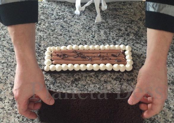 Trancio cremoso al cioccolato