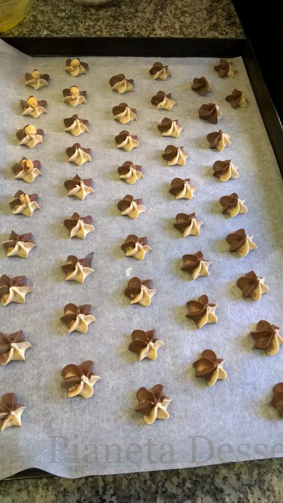Biscottini viennesi vaniglia e cacao