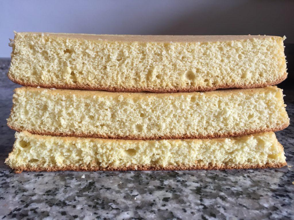 Pan di Spagna pesante,medio o leggero?