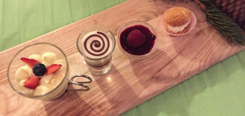 Dessert classici in tagliere