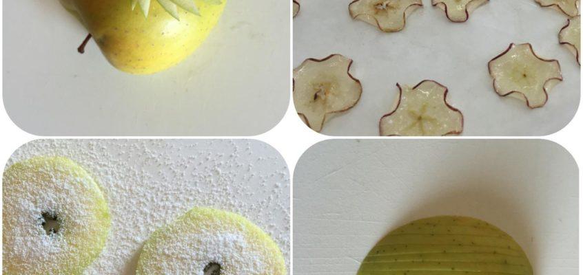 Decorazioni con le mele