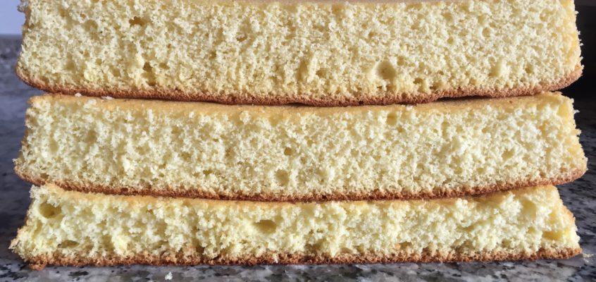 Pan di Spagna pesante, medio o leggero?