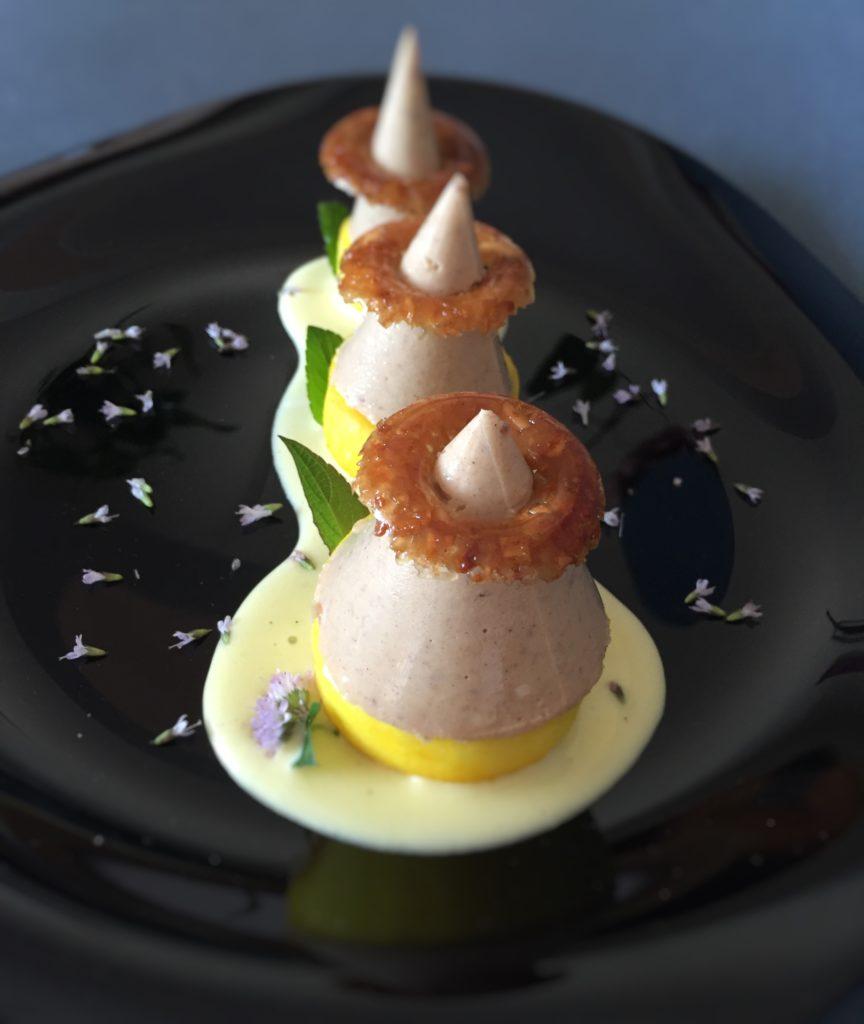 Salse di pasticceria per dessert al piatto